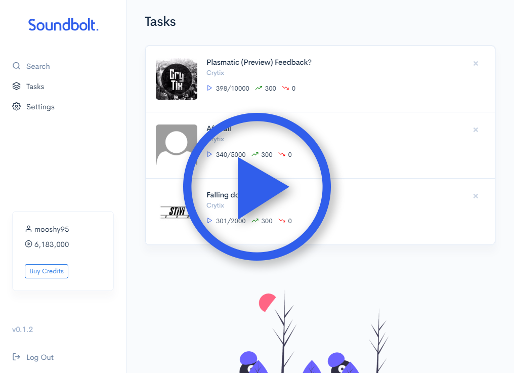 Soundbolt - Ultimate Soundcloud Bot! Increase Soundcloud Plays Fast